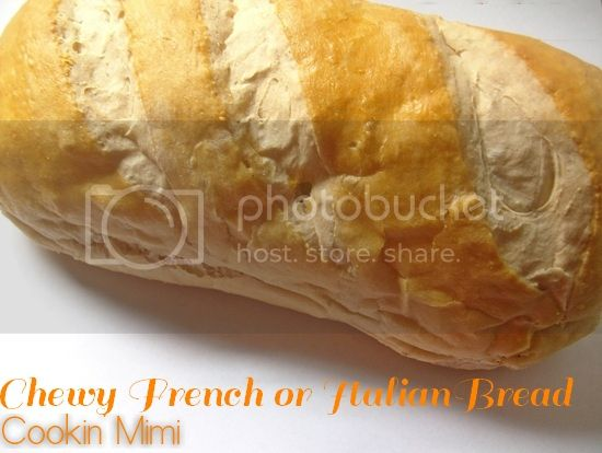 Chewy French or Italian Bread from Cookin' Mimi