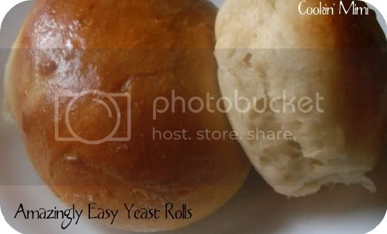 Amazingly Easy Yeast Rolls 